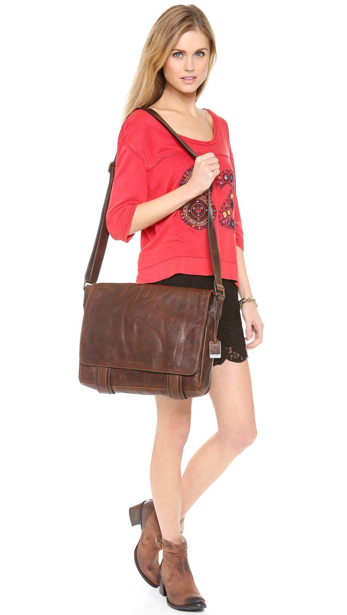 31920415e9b9f Frye Logan Messenger Bag