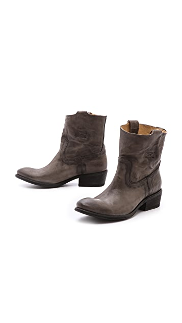 Frye Carson Tab Short Boots