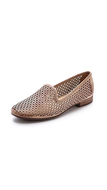 Frye Jillian Perforated Flats