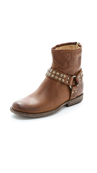Frye Phillip Studded Harness Booties