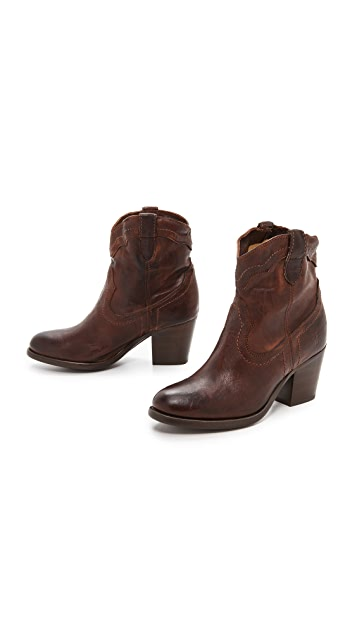 Frye Tabitha Pull On Short Boots