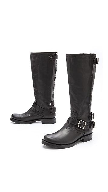 Frye Veronica Back Zip Boots