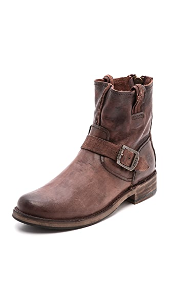 Frye Vicky Artisan Back Zip Booties