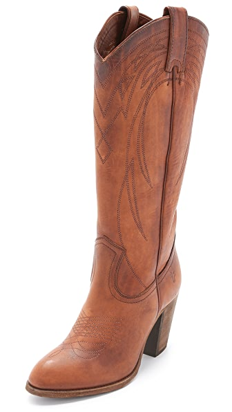Frye Ilana Pull On Boots - Cognac