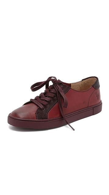 Frye Gemma Low Lace Sneakers