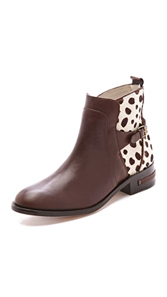 Freda Salvador Play Snow Leopard Booties