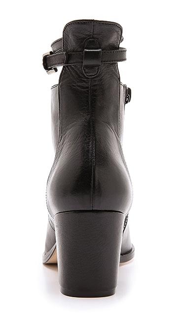 Freda Salvador Conquer Chunky Heel Booties