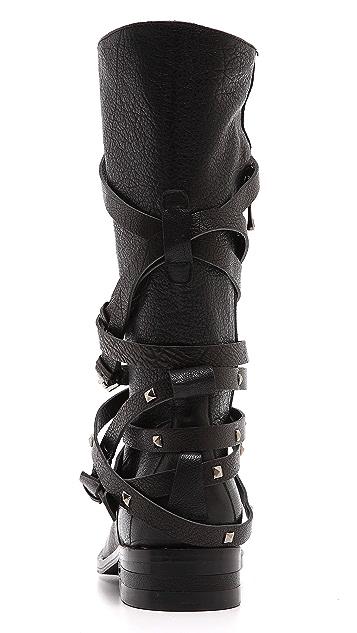 Freda Salvador Ride Buckle Boots