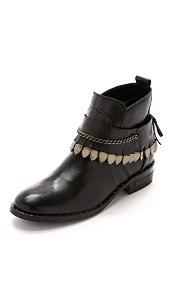 Freda Salvador Star Booties - Black