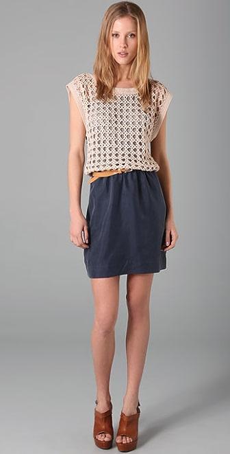 Funktional Heirloomed Dress with Belt