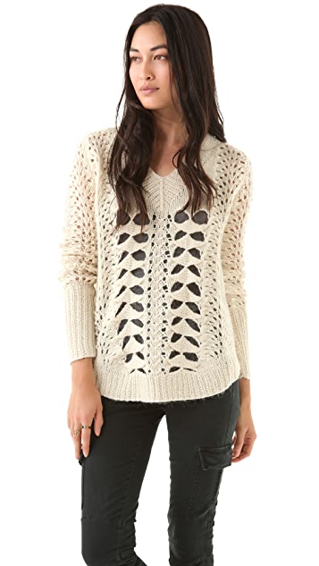 Funktional Chunky V Neck Sweater
