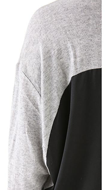 Funktional Silk Back Sweater
