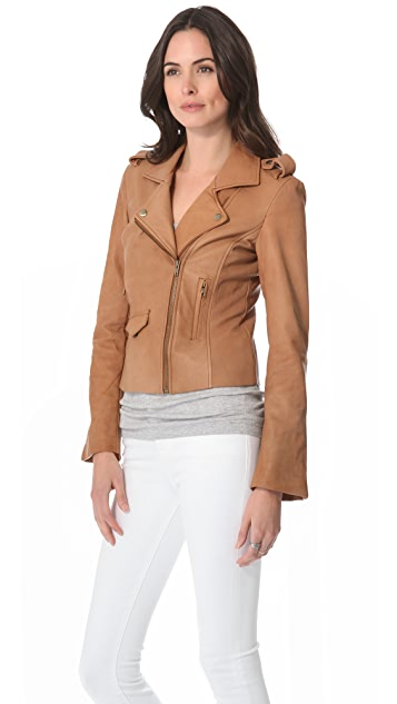 Funktional Leather Moto Jacket