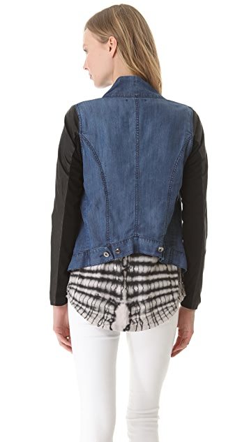 Funktional Offset Drape Jacket