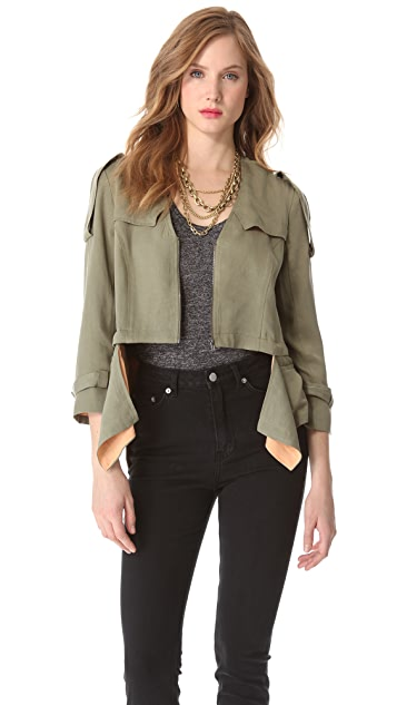 Funktional Cropped Detachable Jacket