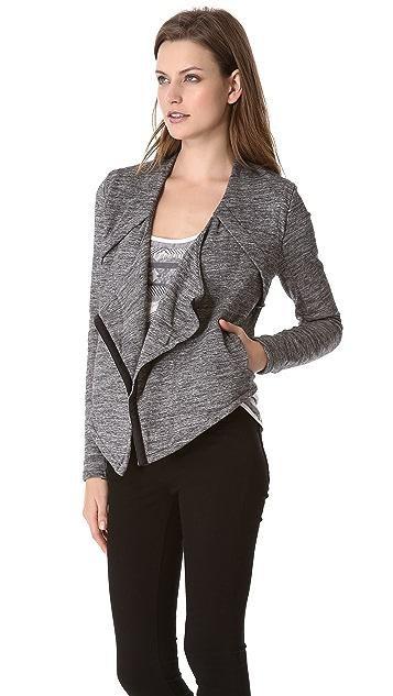 Funktional Graphite Drape Jacket