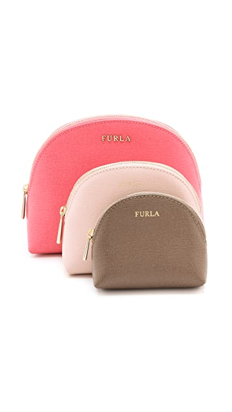Furla Babylon 3 in 1 Cosmetic Case Set