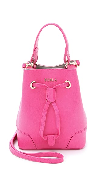 Furla Stacy Mini Cross Body Bucket Bag