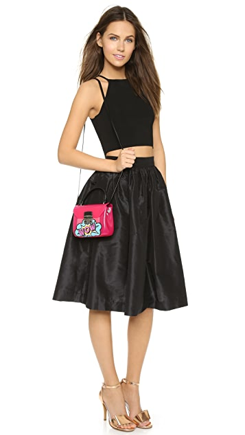Furla Graffiti Candy Bon Bon Mini Cross Body Bag