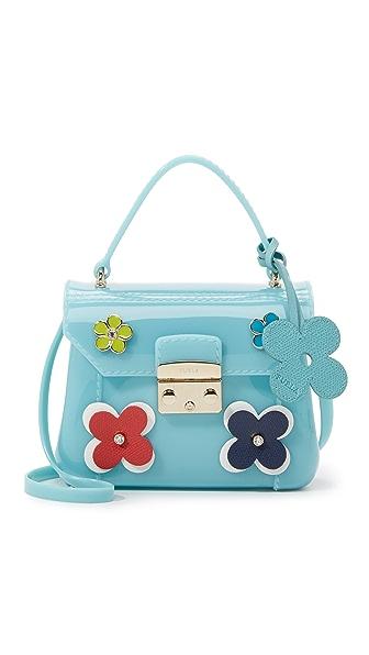 Furla Floral Candy Bon Bon Mini Cross Body Bag