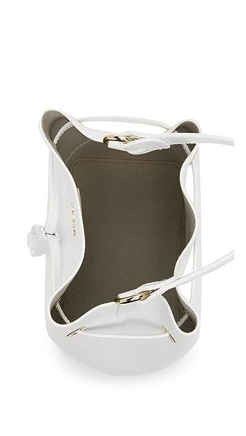 Furla Stacy Drawstring Bucket Bag