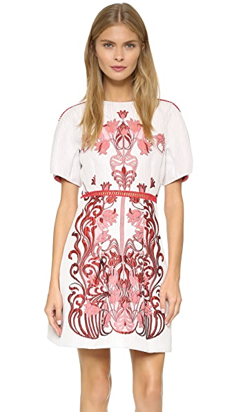 Giamba Jacquard Frame Dress