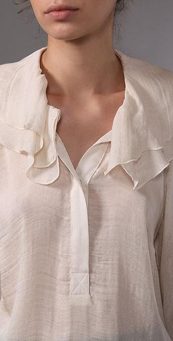 Graham & Spencer Winter Silk Blouse