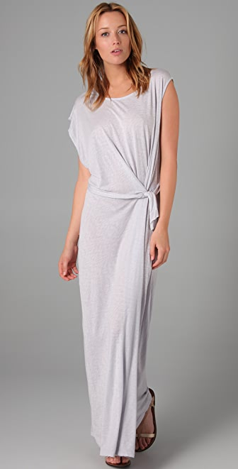 Graham & Spencer One Sleeve Long Dress
