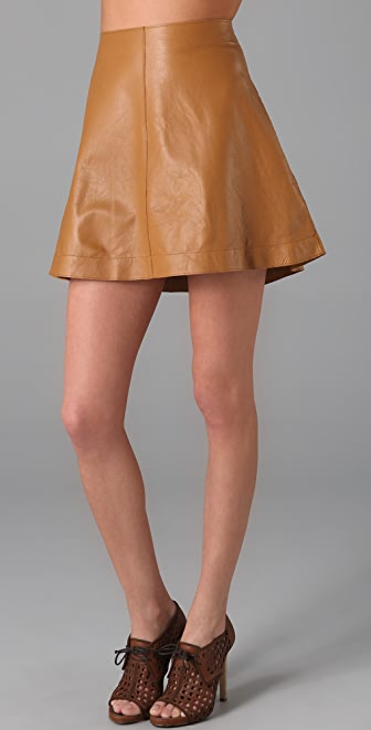 Graham & Spencer Leather Skirt