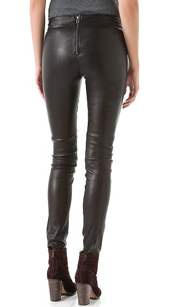 Graham & Spencer Stretch Leather Pants