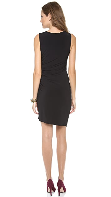 Graham & Spencer Stretch Jersey Draped Dress