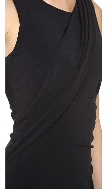Graham & Spencer Stretch Jersey Draped Dress