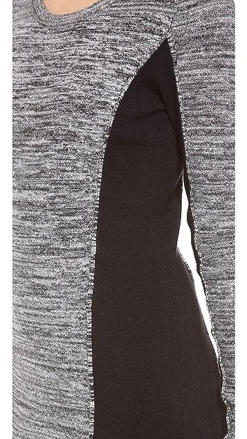 Graham & Spencer Body Con Long Sleeve Dress