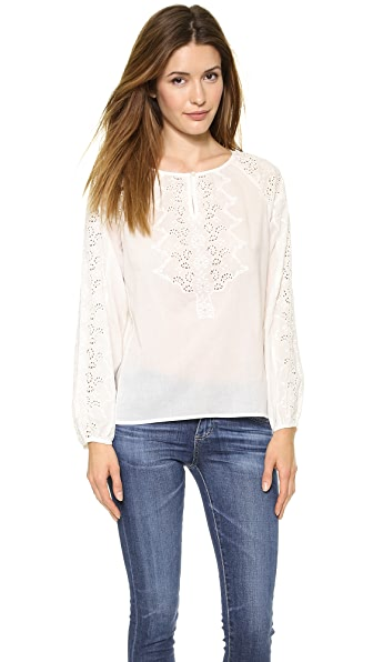 Graham & Spencer Embroidered Tunic