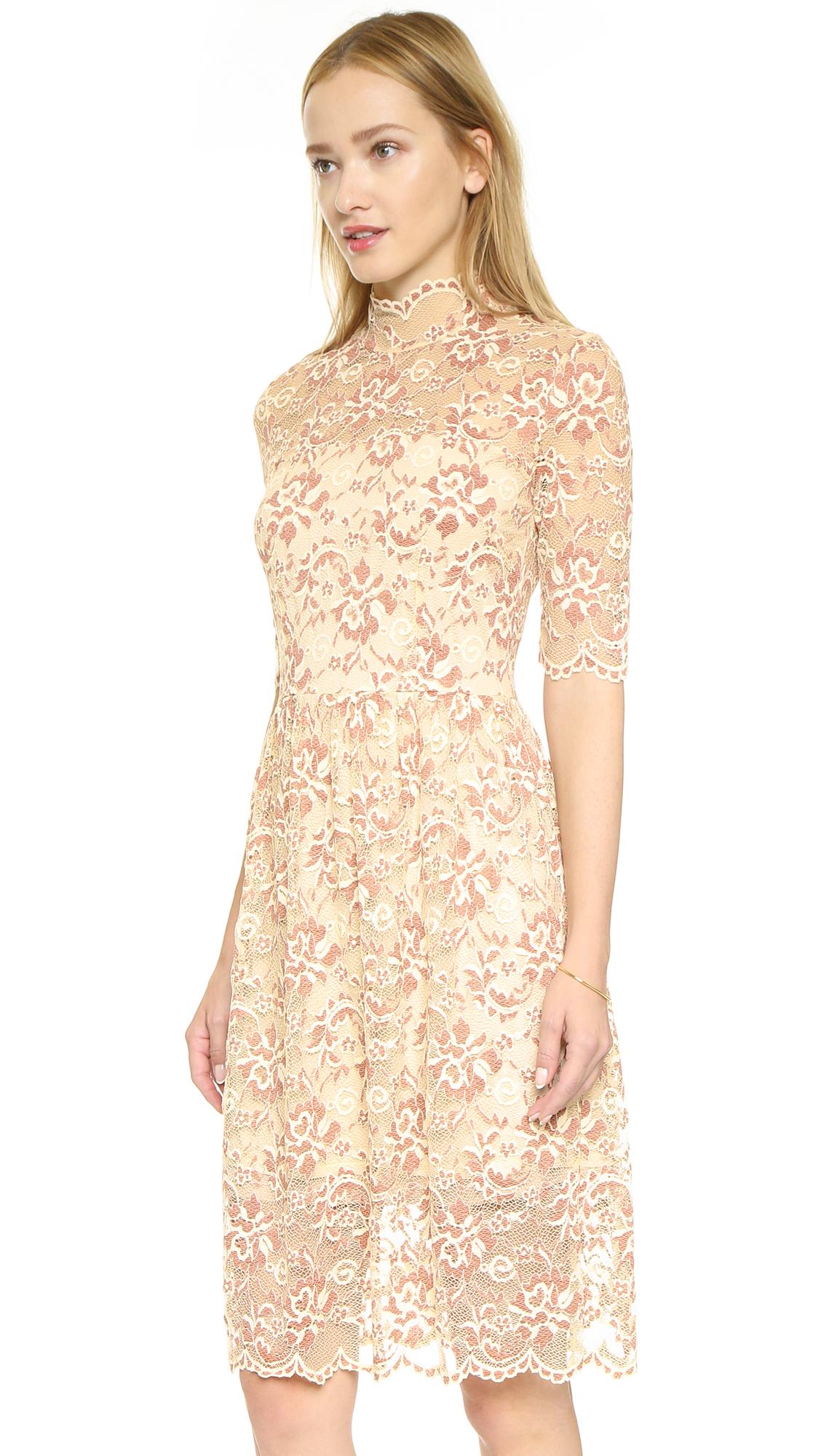 Copper Lace Dresses