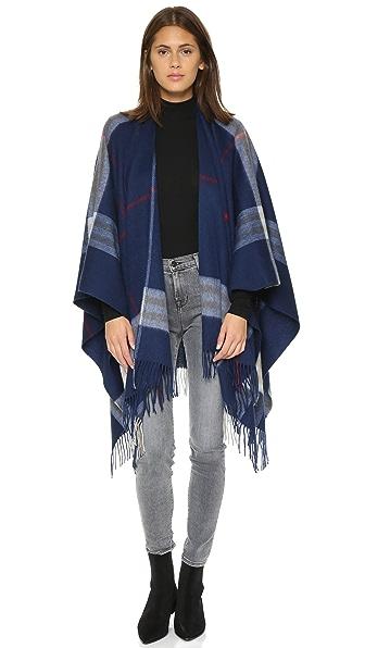 Ganni Wool Poncho