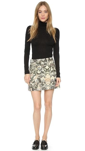 Ganni Turlington Lace Miniskirt