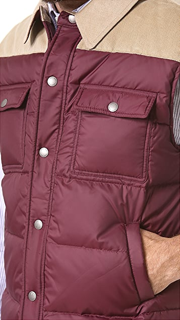 Gant by Michael Bastian The MB Down Vest