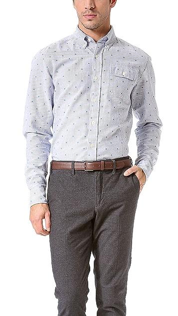 Gant by Michael Bastian MB Striped Oxford Shirt