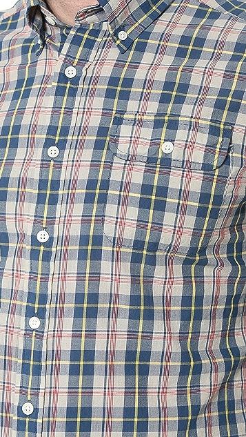 Gant by Michael Bastian The MB Ocean Madras Shirt