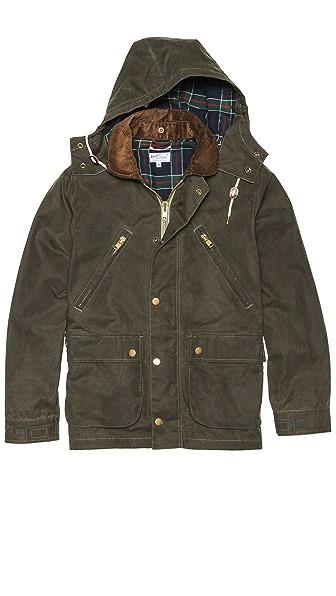 Gant Rugger Wax Your Back Coat