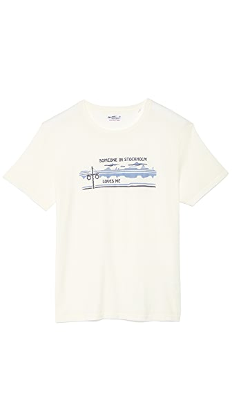 Gant Rugger Someone In Stockholm T-Shirt