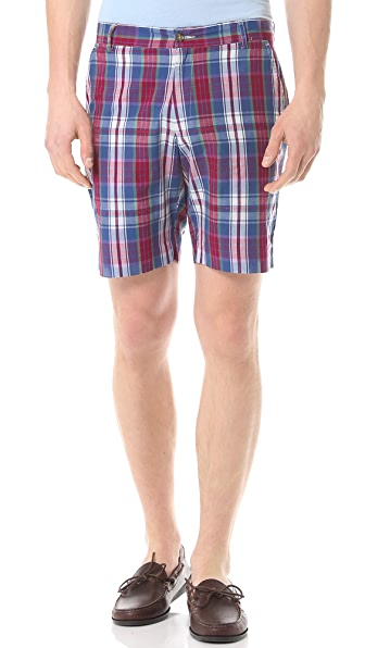 Gant Rugger Check Shorts