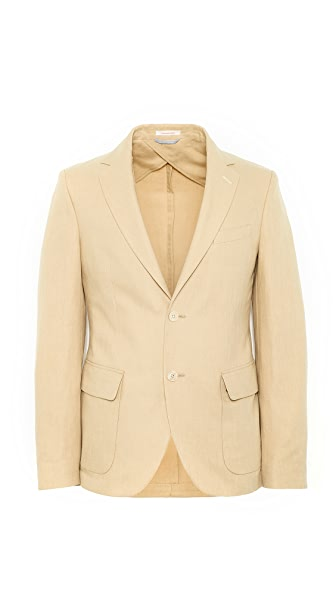 Gant Rugger Canvas Unconstructed Blazer