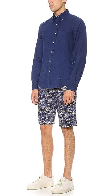Gant Rugger Ocean Camo Shorts