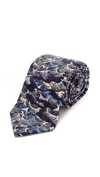 Gant Rugger Wave Camo Tie