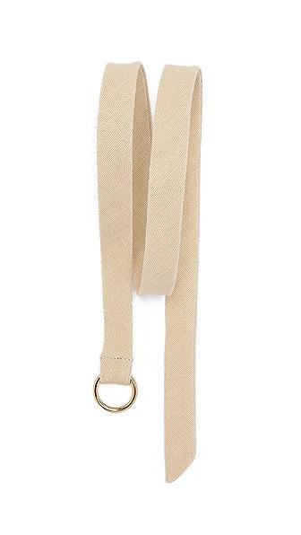 Gant Rugger Linen Hopsack Belt
