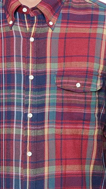 Gant Rugger Windblown Flannel Shirt