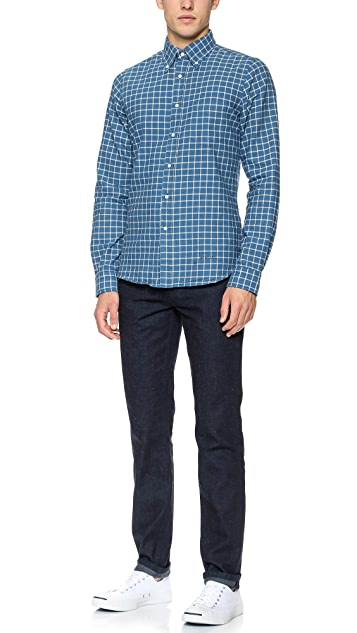 Gant Rugger Indigo Oxford Shirt