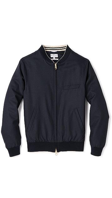 Gant Rugger Hopsack Bomber Jacket